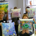 Made in the Silk Painting Class
