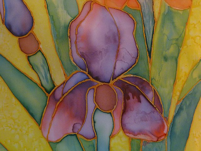 Risultati immagini per silk paintings