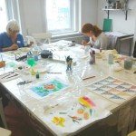 Silk Painting Class April 14