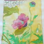 Silk painting 1