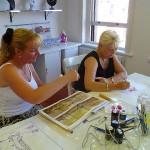 Silk Painting Class 1