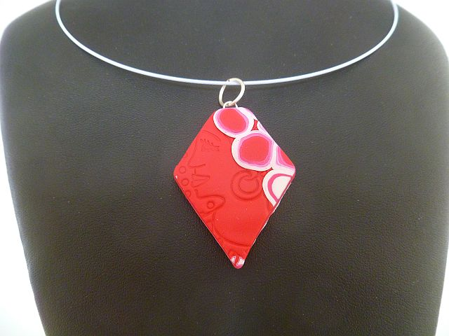 wikihow version step polymer pendant with make pictures to how titled jewelry clay image