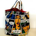 Tote Bag Sample Cartoon Fabric